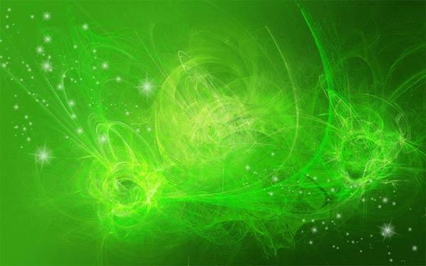 Green wallpaper - by LoveIsLostForever