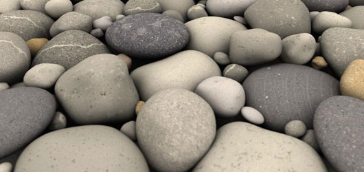 Pebbles - by Jonathan Hunt (2008)