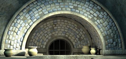 Indoor Aqueduct - by Samuel Benge (2002)