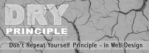 The DRY Principle in web design