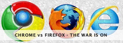 browser war - chrome vs firefox