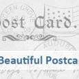 showcase of postcard designs