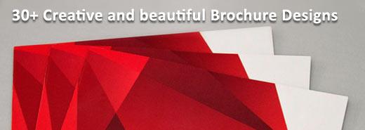 beautiful and creative brochure design samples