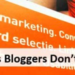 Reasons Bloggers Dont Need SEO