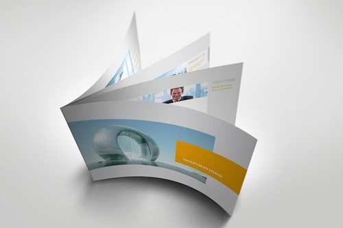 modern brochure design inspiration - beautiful brochure designs for your inspiration deepu balan