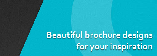 Beautiful brochure designs for your inspiration