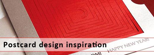 Showcase of inspiring postcard designs