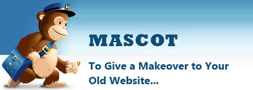 Mascot to give a makeover to your old and boring website
