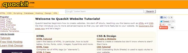 HTML - CSS Tutorials for beginners