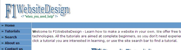 Learn how to make a website