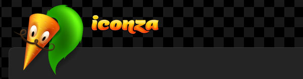 Iconza - Free colored icons for your web site and blog