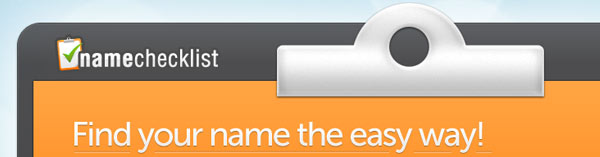 Use namechecklist to check if your brandname, username, domain and vanity url are still available on the worldwide web.