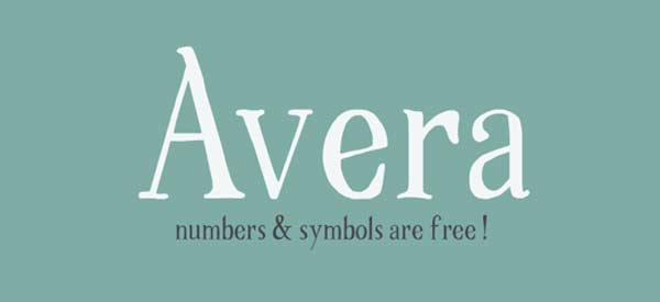 Avera - Font Family on Behance