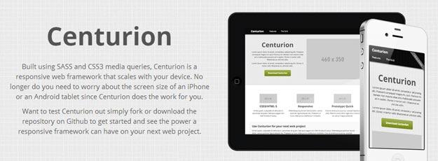 Centurion - A CSS Web Framework