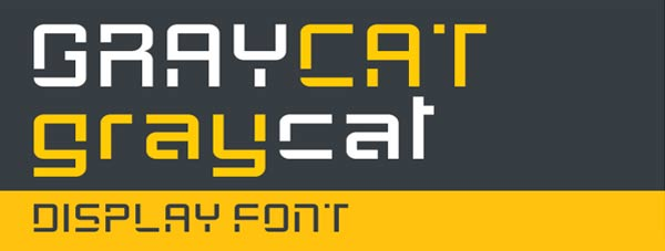 GRAYCAT FREE FONT on Behance