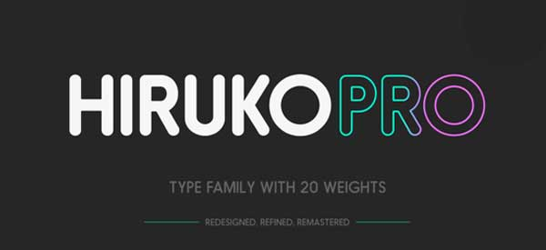 Hiruko Pro FREE on Behance