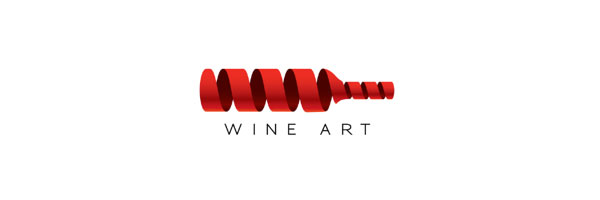 wine art logo