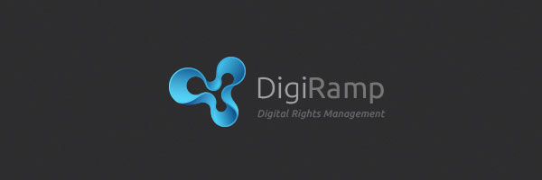 DigiRamp - Digital Rights Management Company Logo Design
