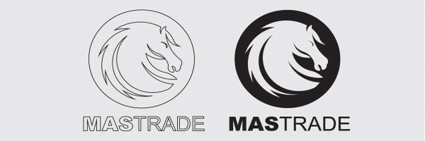 Logo design for Mastrade, an Import export company