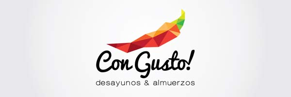 Logo design for Breakfast and Lunch's Restaurant: Con Gusto!