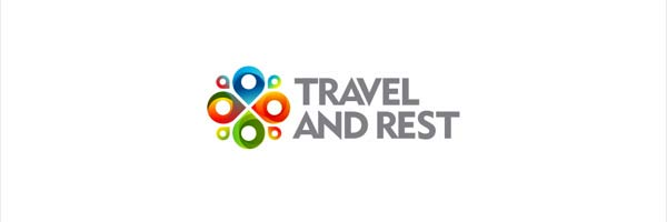 Logo design for travel agency travel and rest
