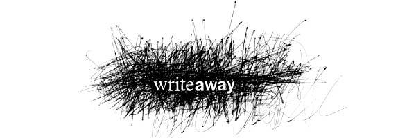 Writeaway logo design