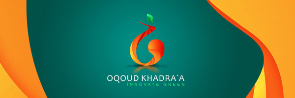 Oqoud Khadraa Innovate green Logo design