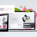 Trendy modern looking html and PSD template. It has a clean simple look with elegant colors.