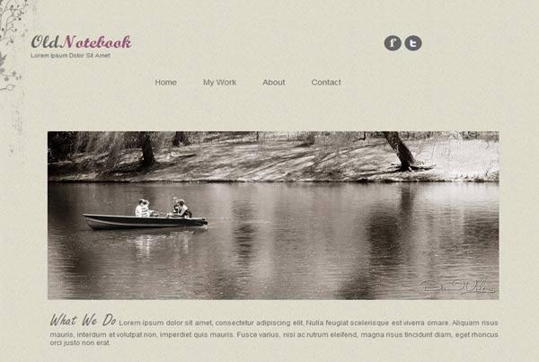 High quality HTML CSS website templates for free download | Deepu Balan