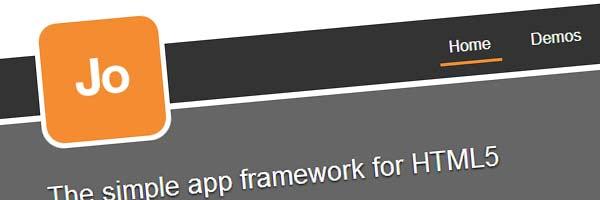 jo web app framework