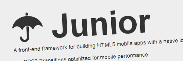 junior app framework