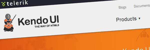 kendoUI html5 javascript framework