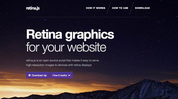 Making your website Retina Ready  – The how to guide