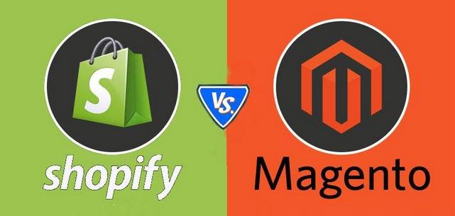 shopify vs magento comparison